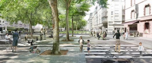 Nouvel urbanisme à Rennes ; inquiétudes ... n°1 Mail-Mitterand