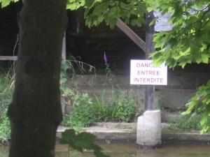 lavoir en 2012 signalé explicitement