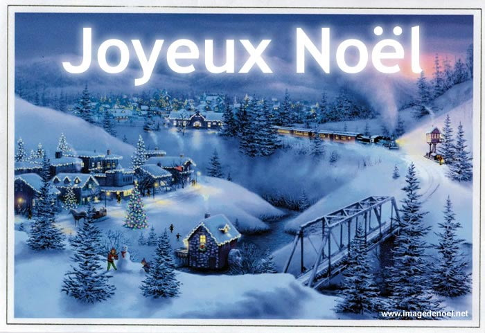 Les fêtes approchent  paysage-avec-train-joyeux-noel