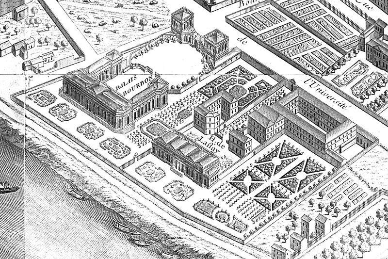 palais-bourbon-et-lhotel-de-lassay-en-1739-sur-les-plans-de-turgot