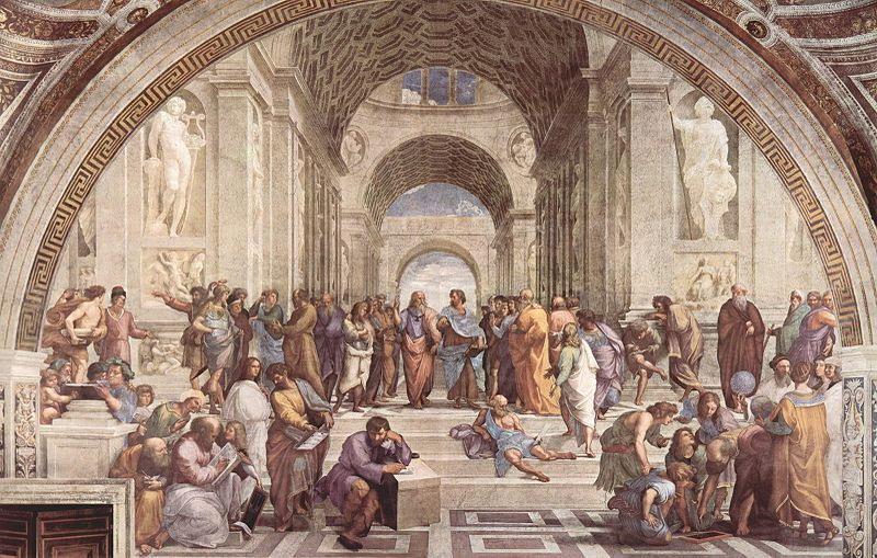 tapisserie-des-gobelins-representant-lecole-dathene-de-raphael-dans-la-chambre-des-signatures-des-musees-du-vatican
