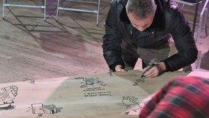 Cercueil de Tignous le 15 janvier 2015 01