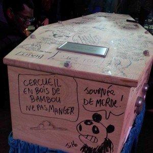 Cercueil de Tignous le 15 janvier 2015 03