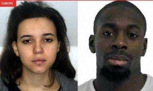 Porte de Vincennes Amedy Coulibaly, 32 ans, et Hayat Boumeddiene, 26 ans