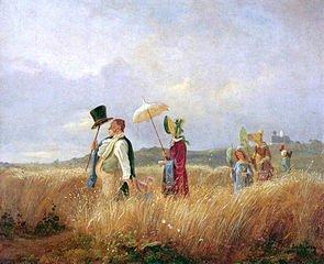 1675 Omberelle et chapeau et canne
