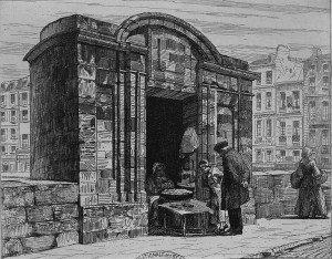 boutique sur le Pont Neuf en 1667