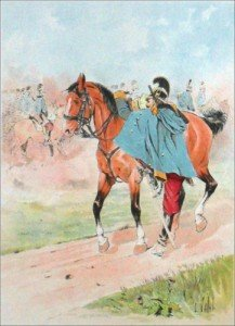cavalerie Fraançaise à Waterloo