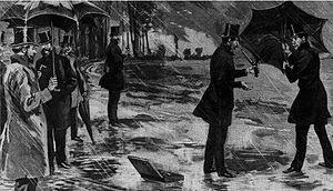 Duel sous parapluie en 1830 - Sainte Beuce contre Dubois