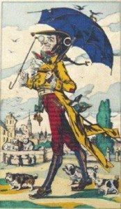 image d'Epinal 02 Illustration de Cadet Rousselle (Pellerin, 1863)