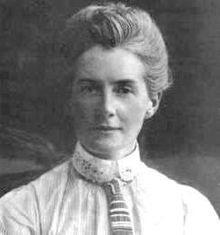 Edith Cavell en 1890 fusillée en 1915 01