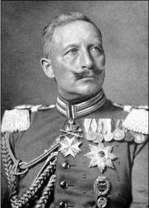 Guillaume II le Kaiser empereur d'Allemagne
