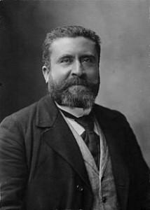 Jean Jaurès assassiné le 31 juillet 1914