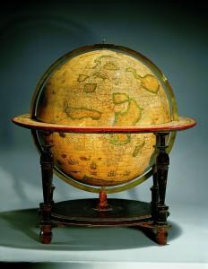 Globe terrestre en 1600 BNF