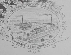 La manufacture en 1905