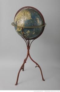 représentation du globe terrestre au XVII -XVIII